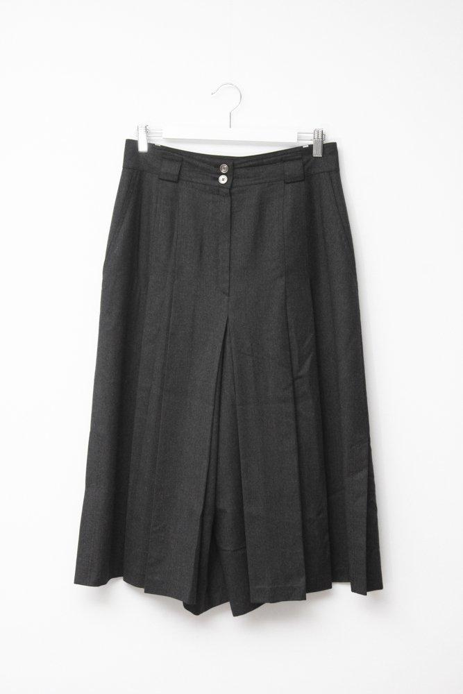 0730_VINTAGE HIGH WAIST GREY CULOTTES