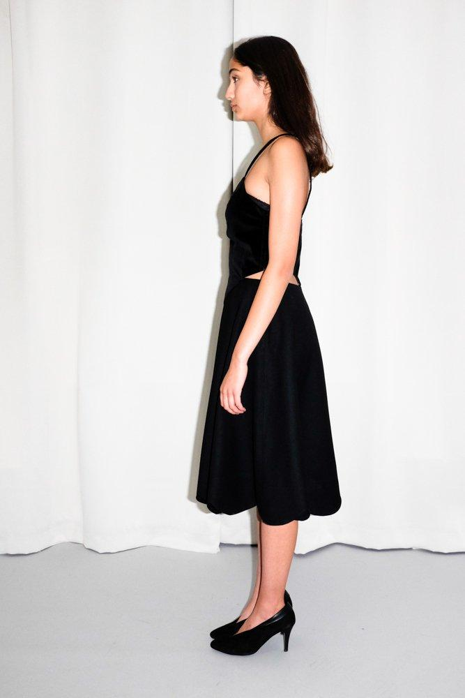 0738_COMME DES GARCONS FOR H_&_M BLACK DRESS