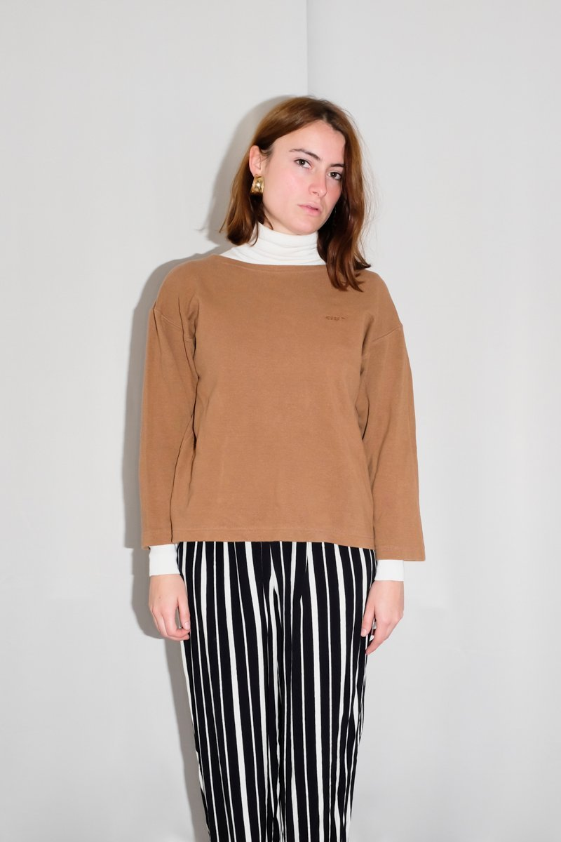 0164_VINTAGE ESPRIT 90s COTTON SWEATER