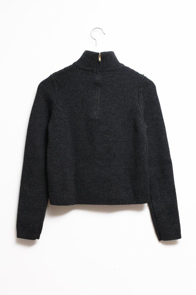 0618_COS TURLE CABLE KNIT SWEATER