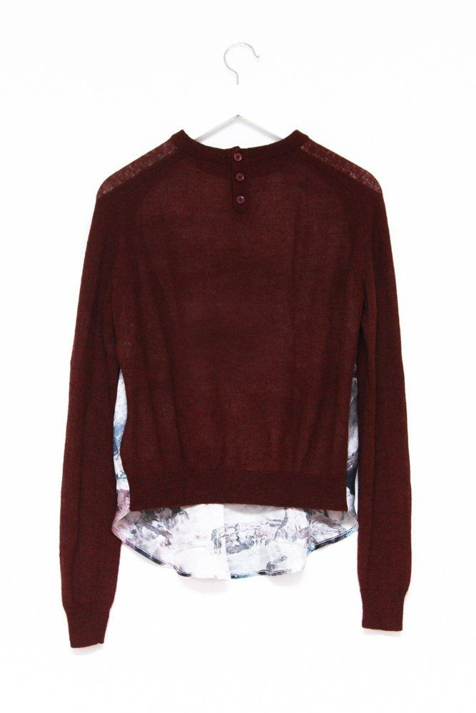 0581_CARVEN SEA SILK BORDEAUX SWEATER
