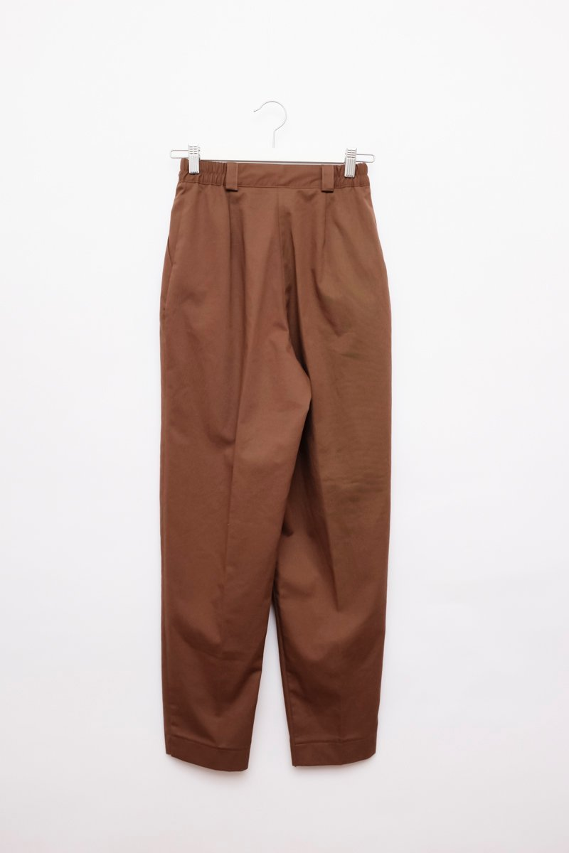 0177_HIGH WAIST WALNUT PANTS