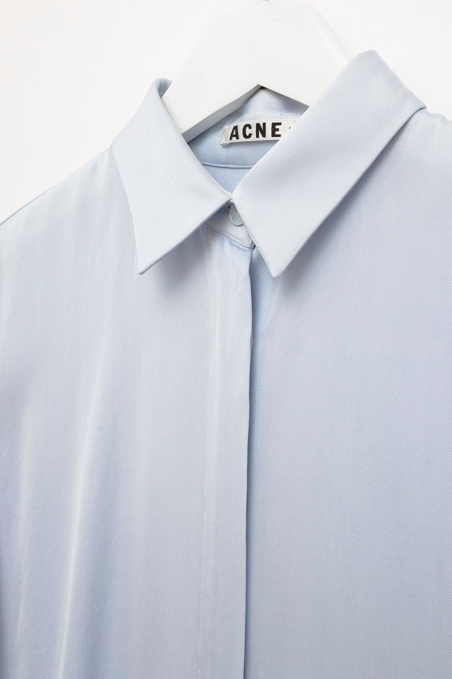 0349_ACNE STUDIOS PALE BLUE BLOUSE