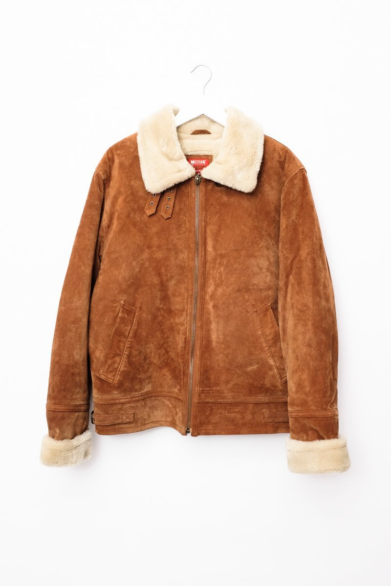 0543_MUSTANG ZIPPED SHEARLING JACKET