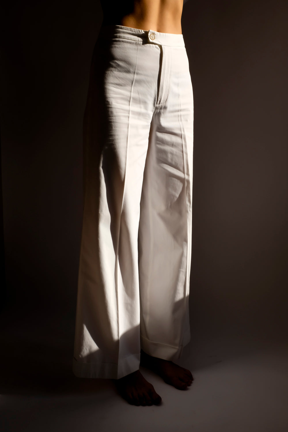 0016_STRENESSE WIDE LEG COTTON PANTS