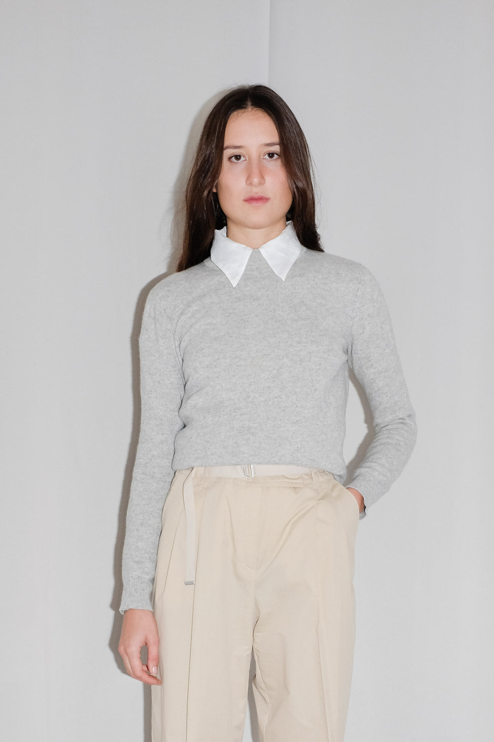 0017_CASHMERE MOCK NECK SWEATER
