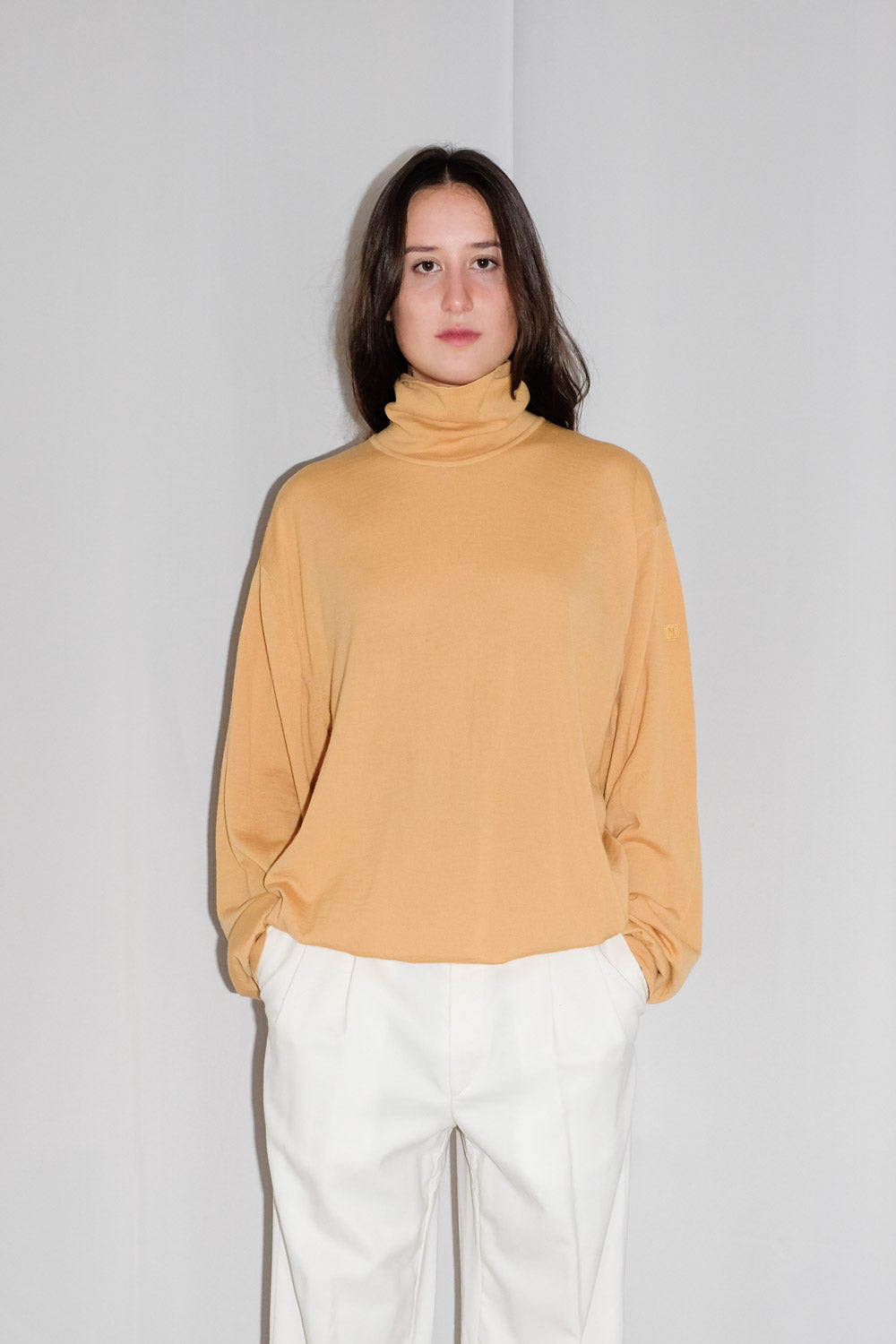 0018_MUSTARD PURE WOOL KNIT