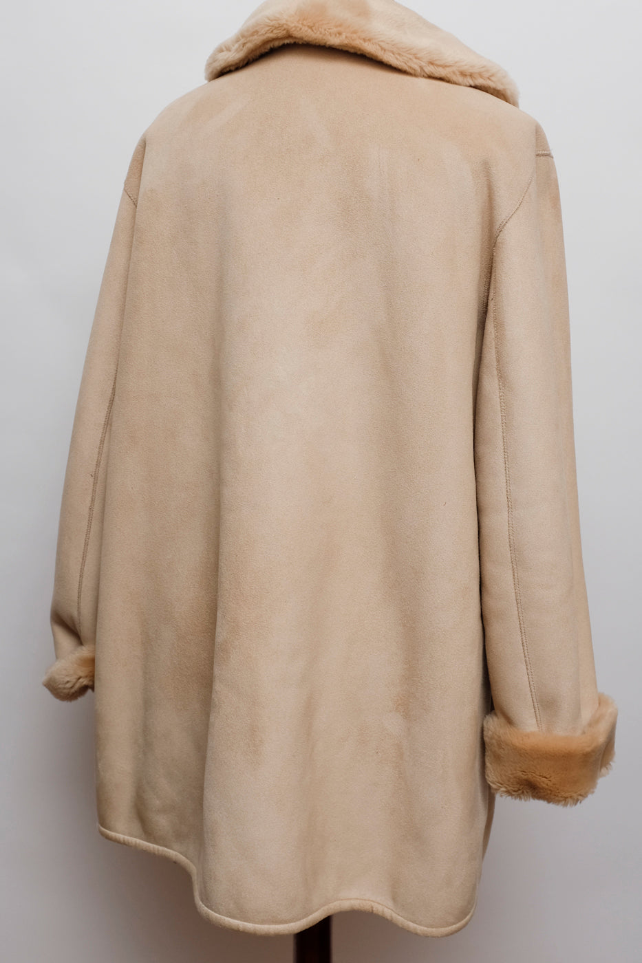 0007_VINTAGE TEDDY COAT