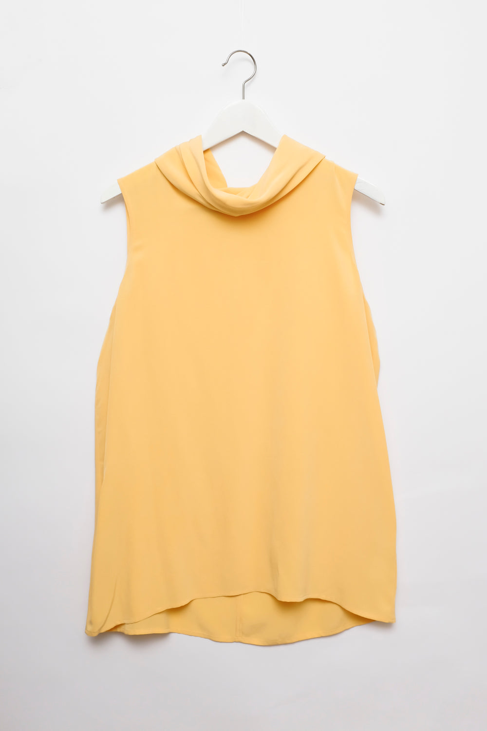 0001_PEACH VINTAGE SILK TOP