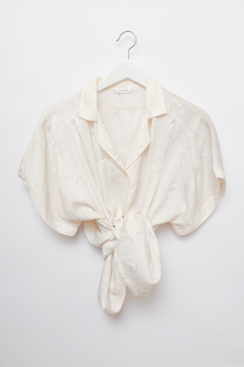 0001_SATIN OFF WHITE OVERSIZE BLOUSE