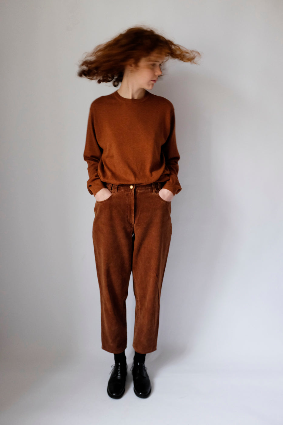 0010_HIGH WAIST CINNAMON PANTS