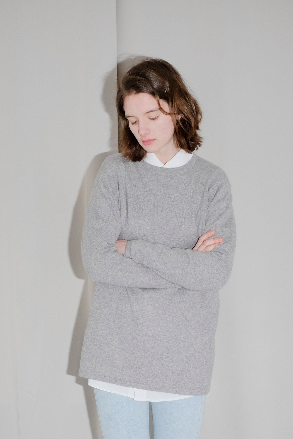 0017_CASHMERE OVERSIZED LONG JUMPER