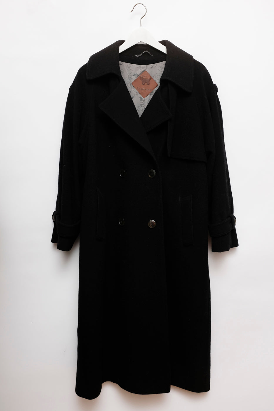 0009_DOUBLE BREASTED WOOL TRENCH COAT