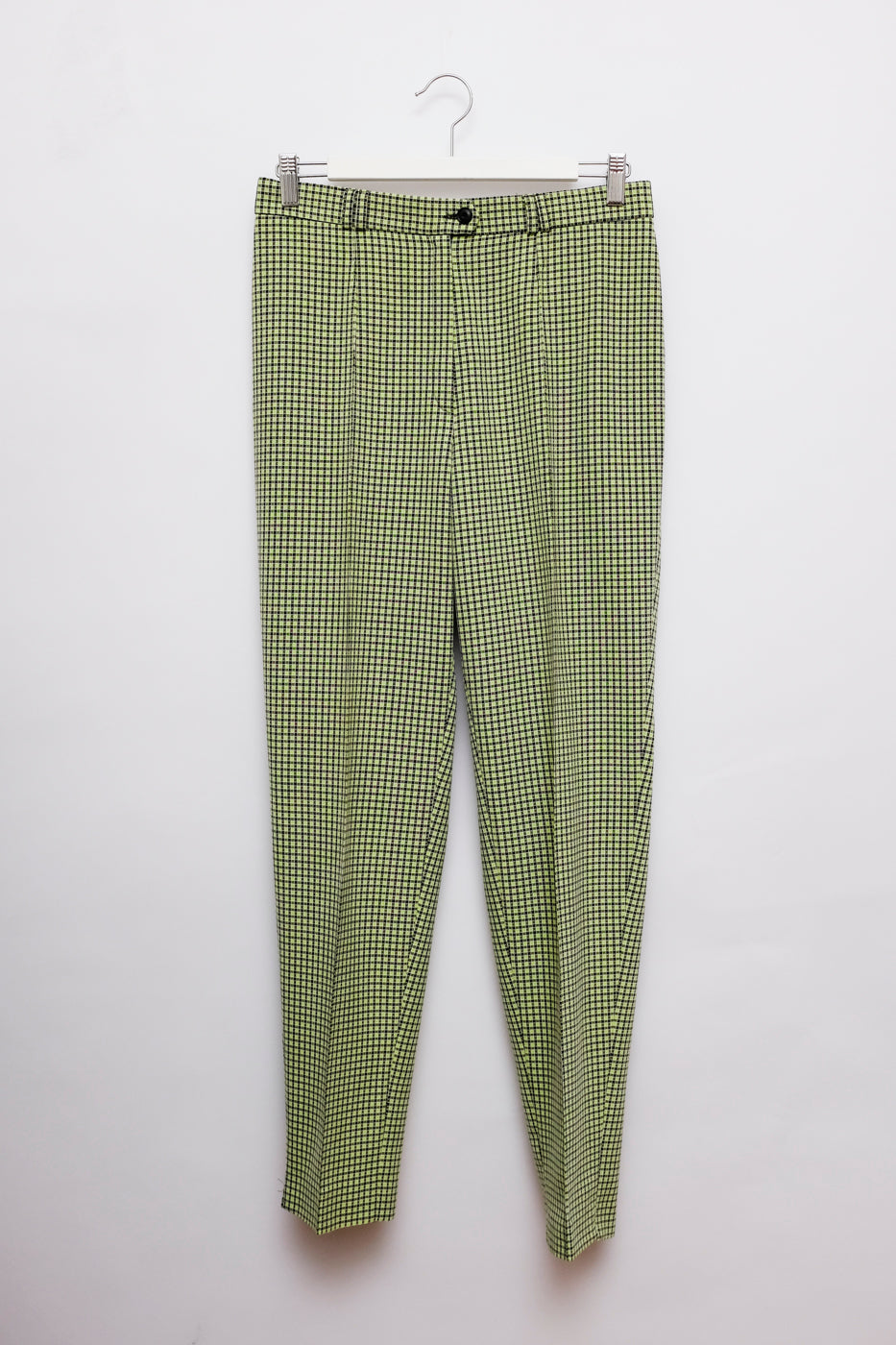0003_VICHY NEON GREEN PANTS