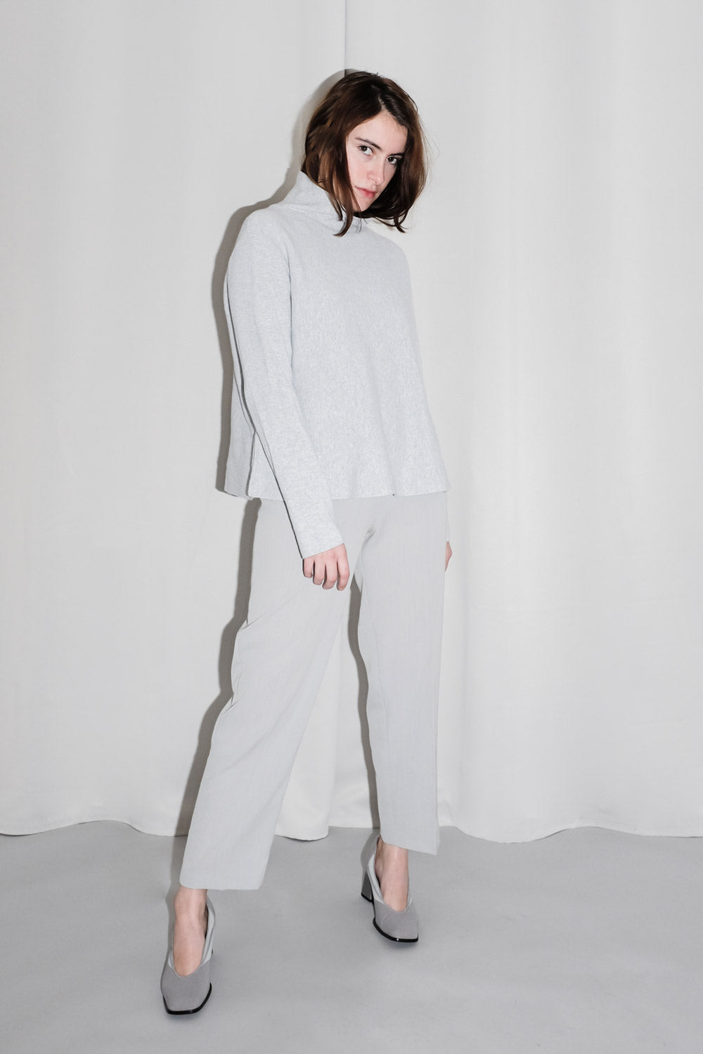 0017_COS A-LINE HIGH NECK SWEATER