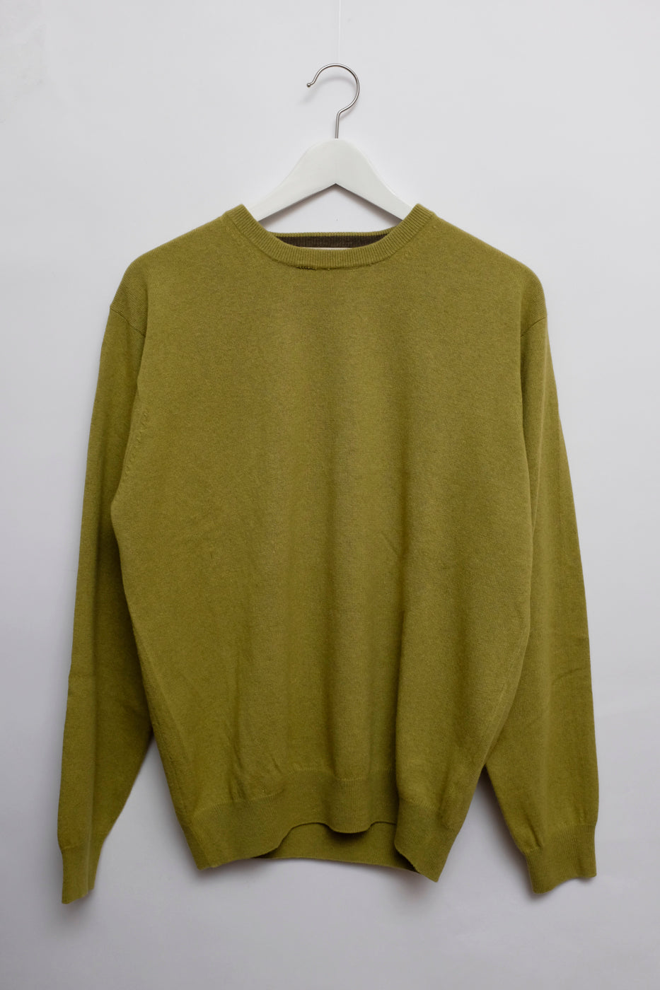 0010_LIME GREEN KNIT SWEATER