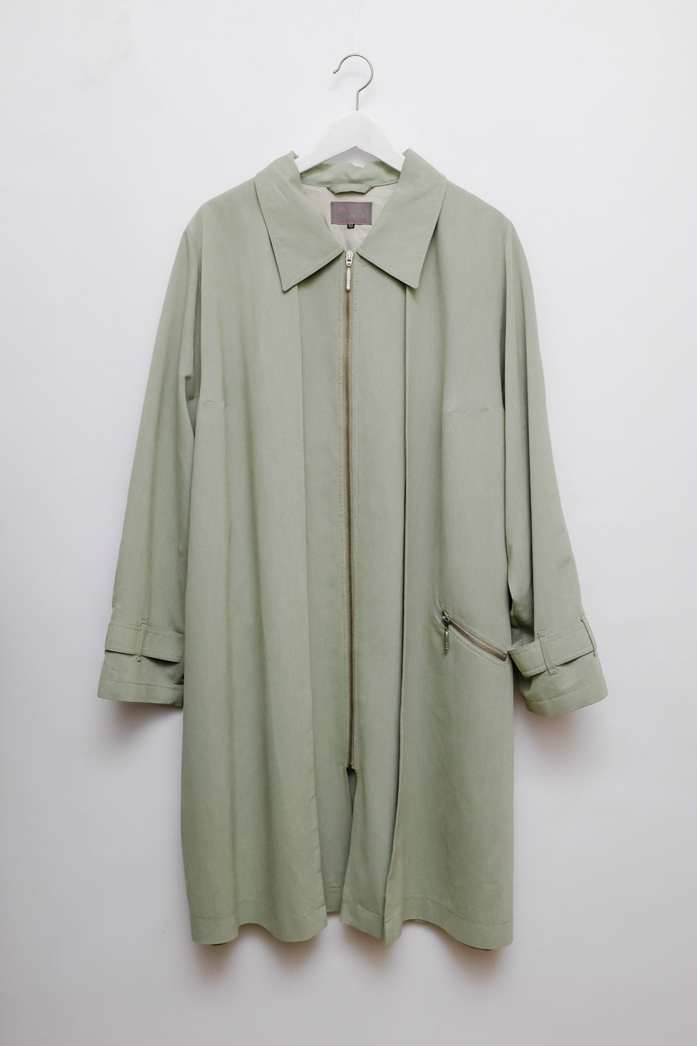 0017_MINT CLEAN OVERSIZE TRENCH COAT