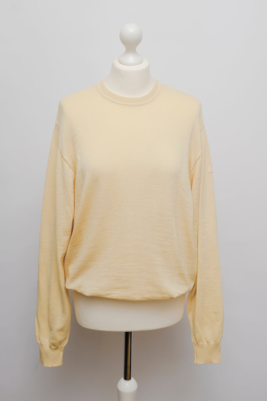 0003_YELLOW VIRGIN WOOL SWEATER