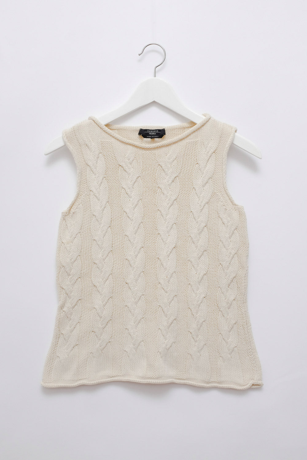 0017_MAX MARA CABLE KNIT SLIP-OVER