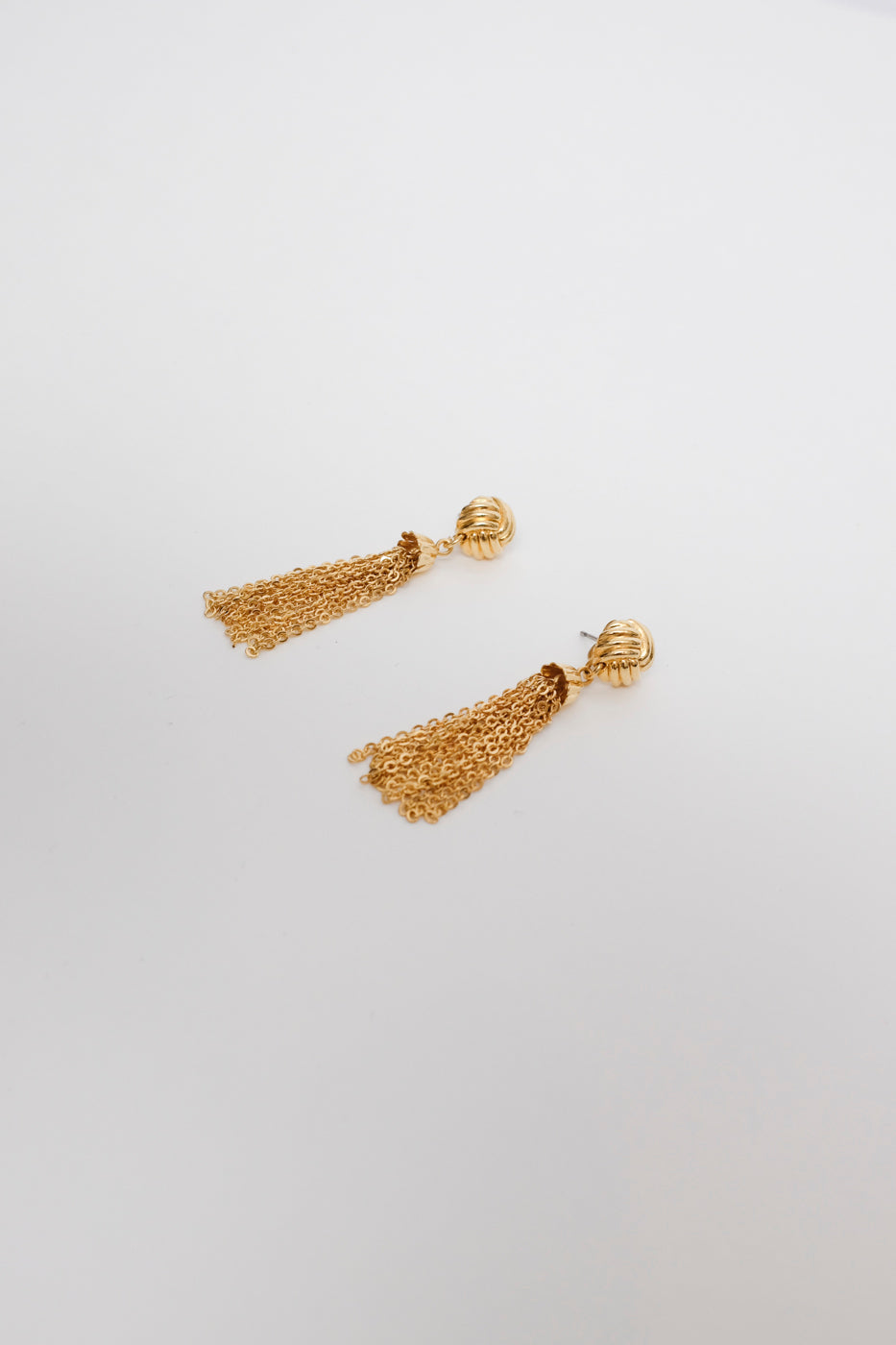 0012_GOLDEN TASSEL EARRINGS
