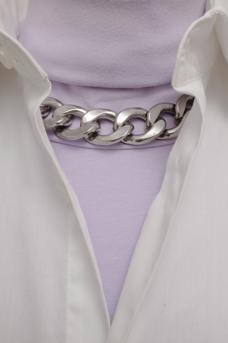 0010_LILAC OVERSIZED TURTLE NECK SWEATER