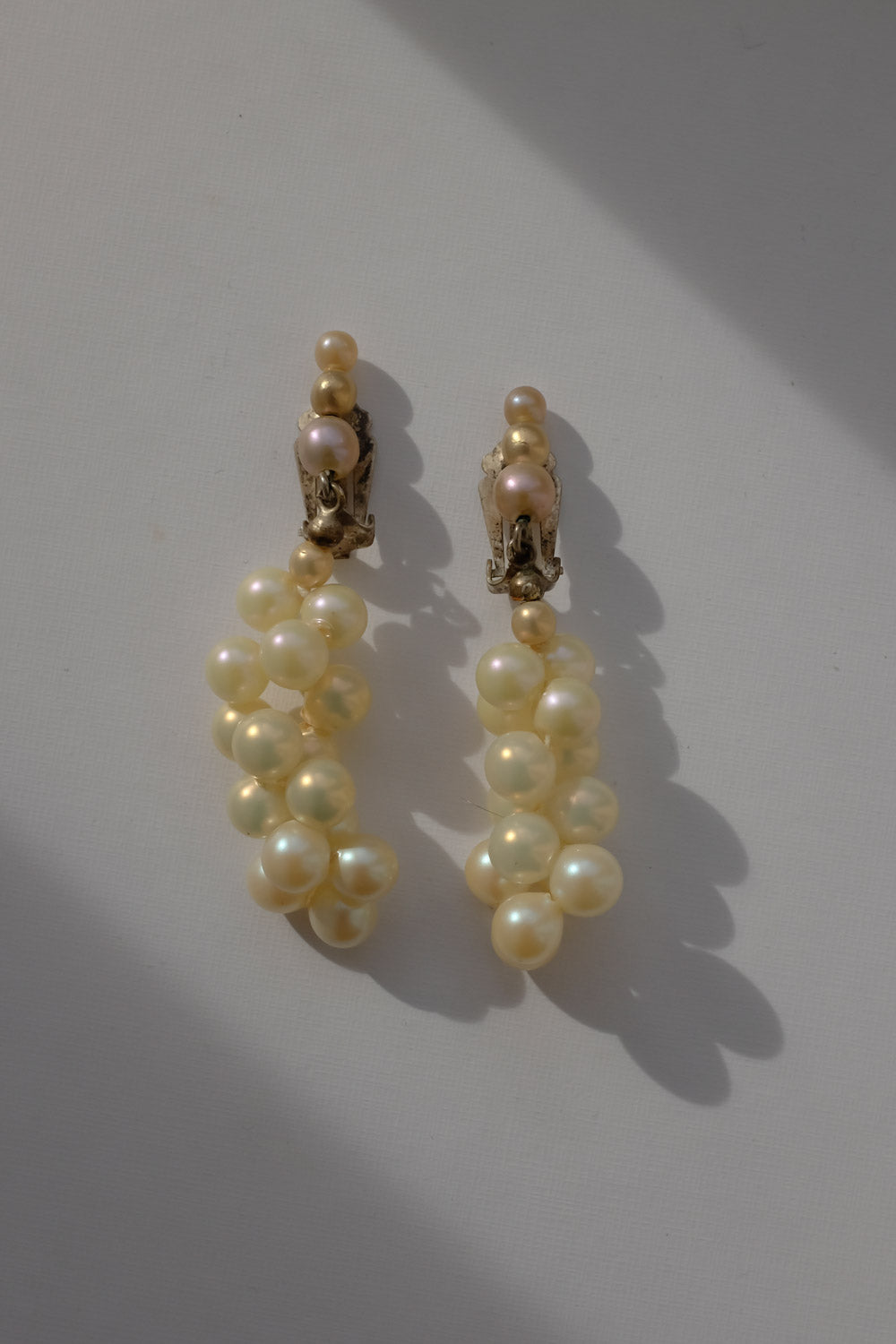 0017_VINTAGE PEARL EARRINGS