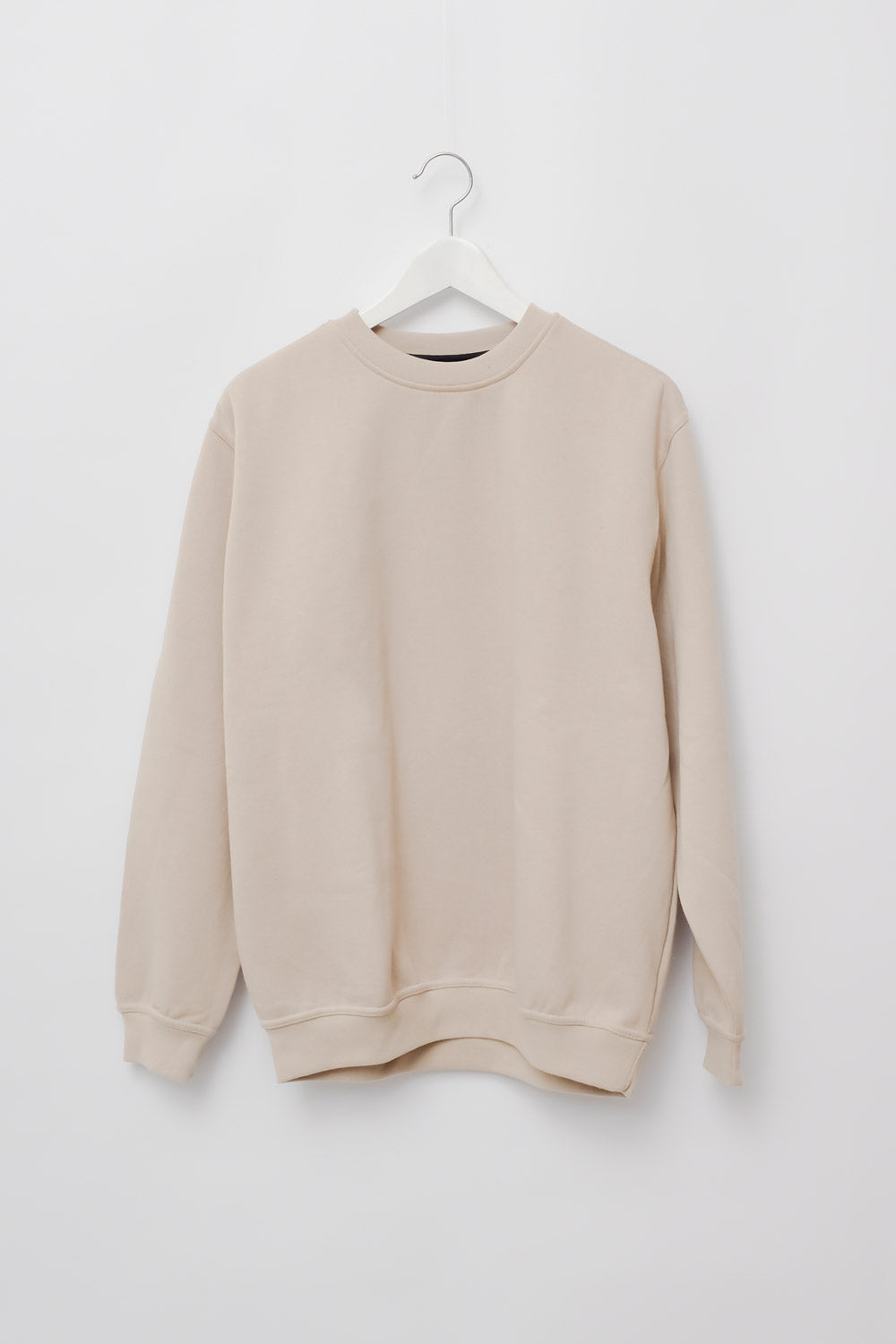 0017_CLEAN CREAM VINTAGE OVERSIZE SWEATER