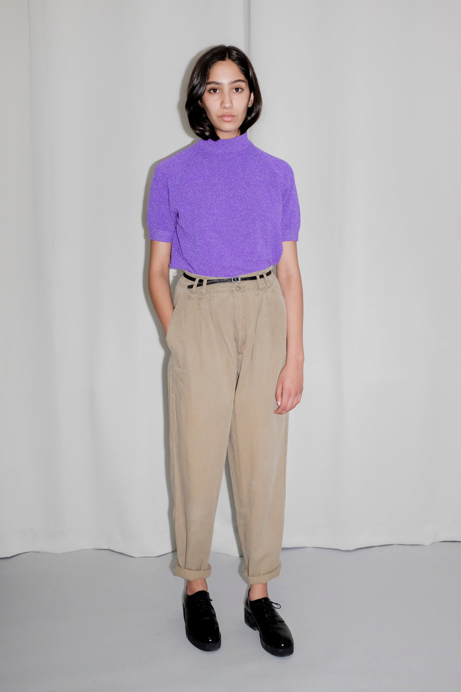 0112_LILAC VINTAGE SWEATER