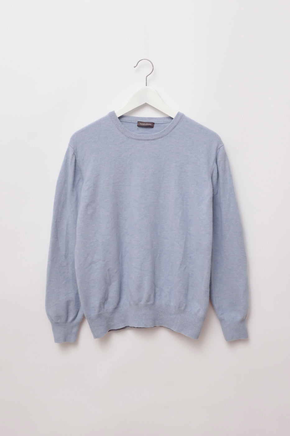 0097_RENÉ LEZARD PALE BLUE SWEATER
