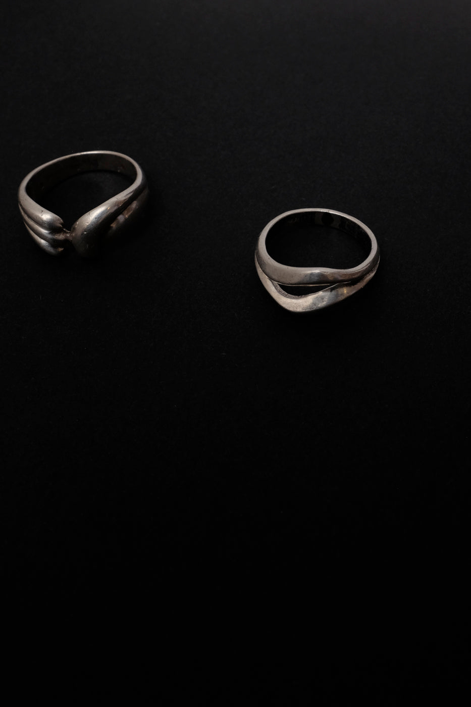 0005_SET 3 x STERLING SILVER VINTAGE RINGS