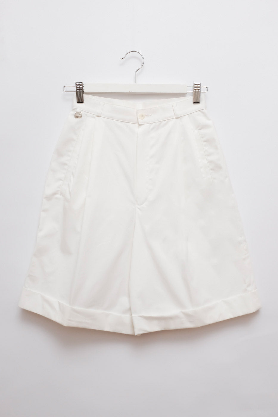 0012_VINTAGE LACOSTE HIGH WAIST SHORTS