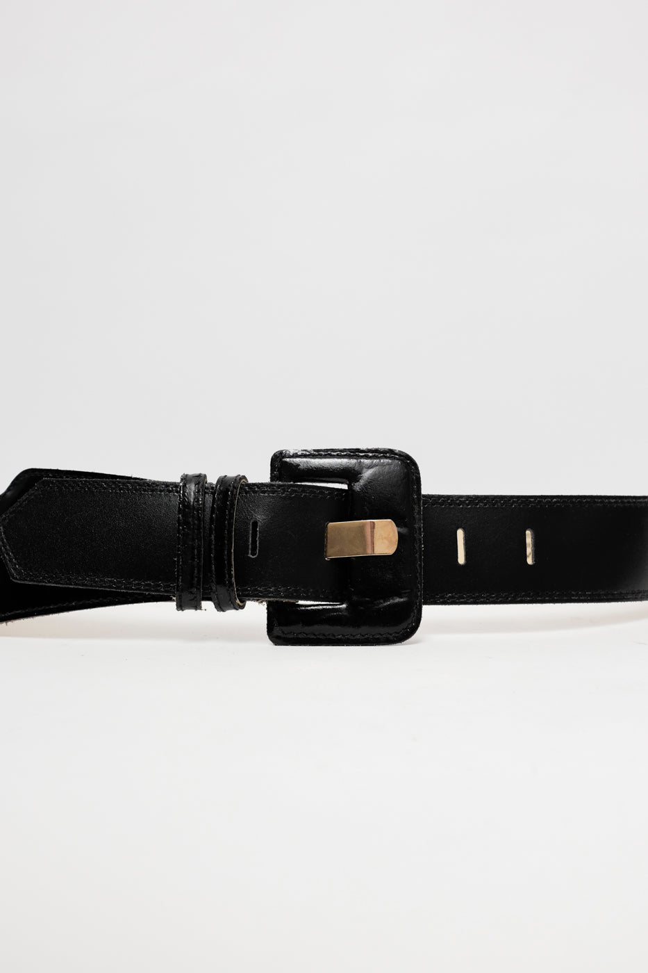 0007_HIGH WAIST BOLD LEATHER BELT