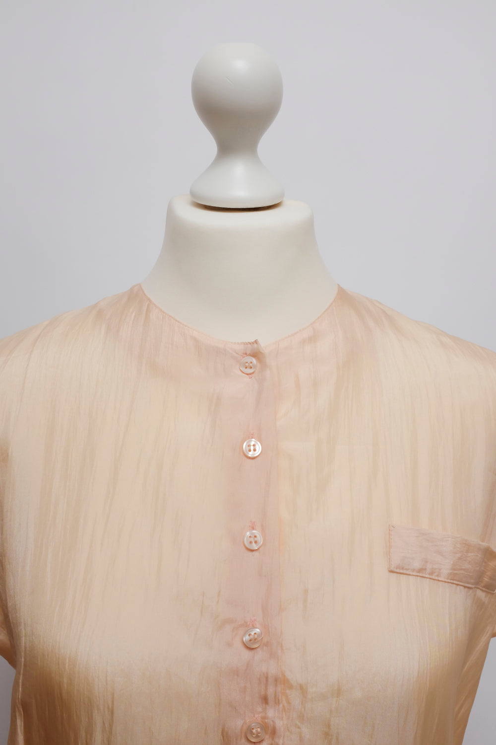 0015_SILK SALMON BLOUSE