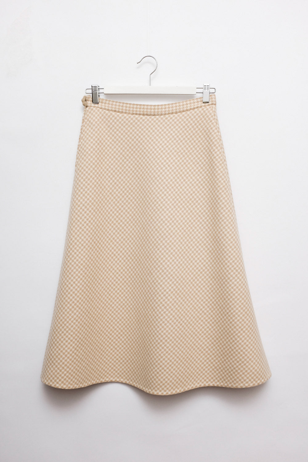 0018_VINTAGE VICHY WOOL SKIRT