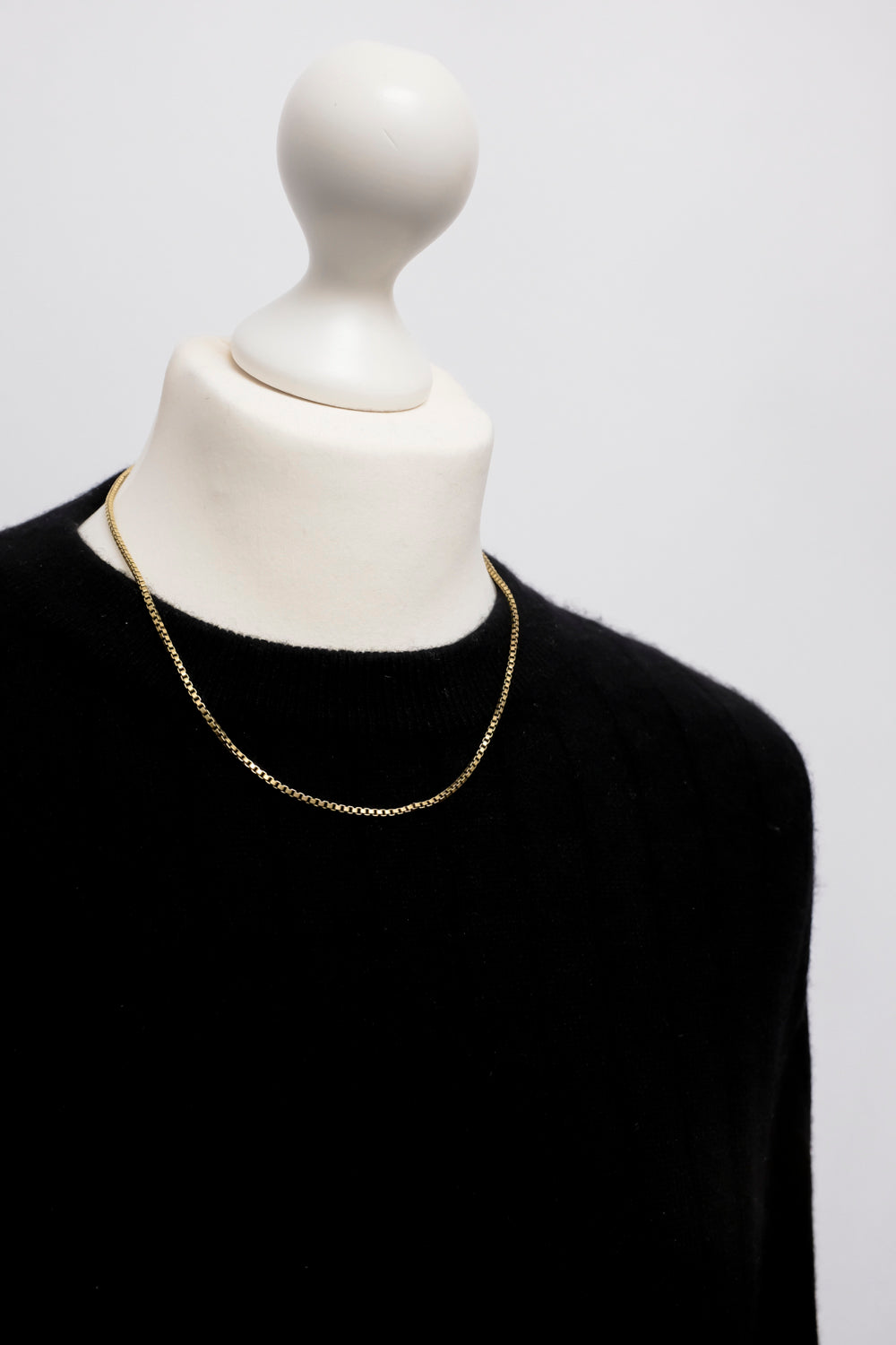 0022_CLASSY GOLD 925 NECKLACE