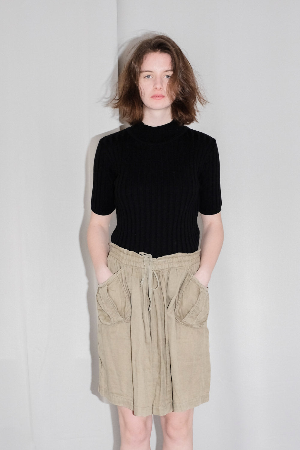 0023_ISABEL MARANT LINEN COTTON SKIRT