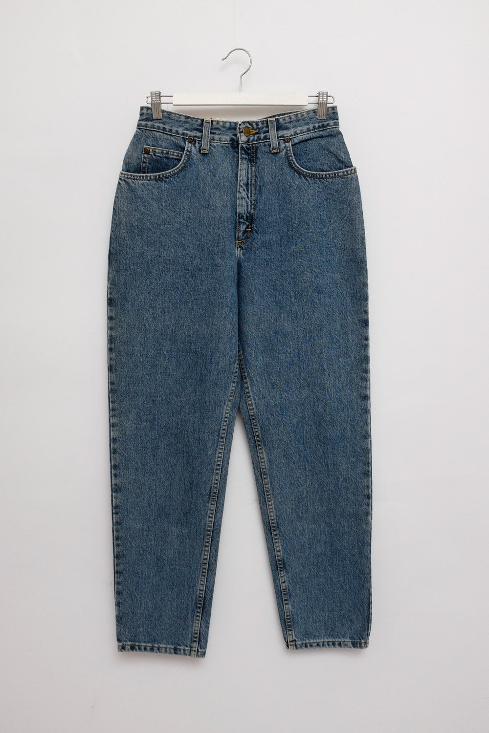 0025_LEE HIGH WAIST TAPERED JEANS VINTAGE