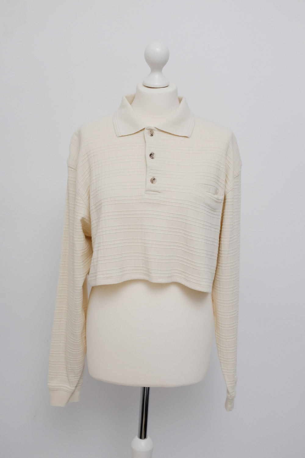0026_CROP VINTAGE SWEATER SHIRT