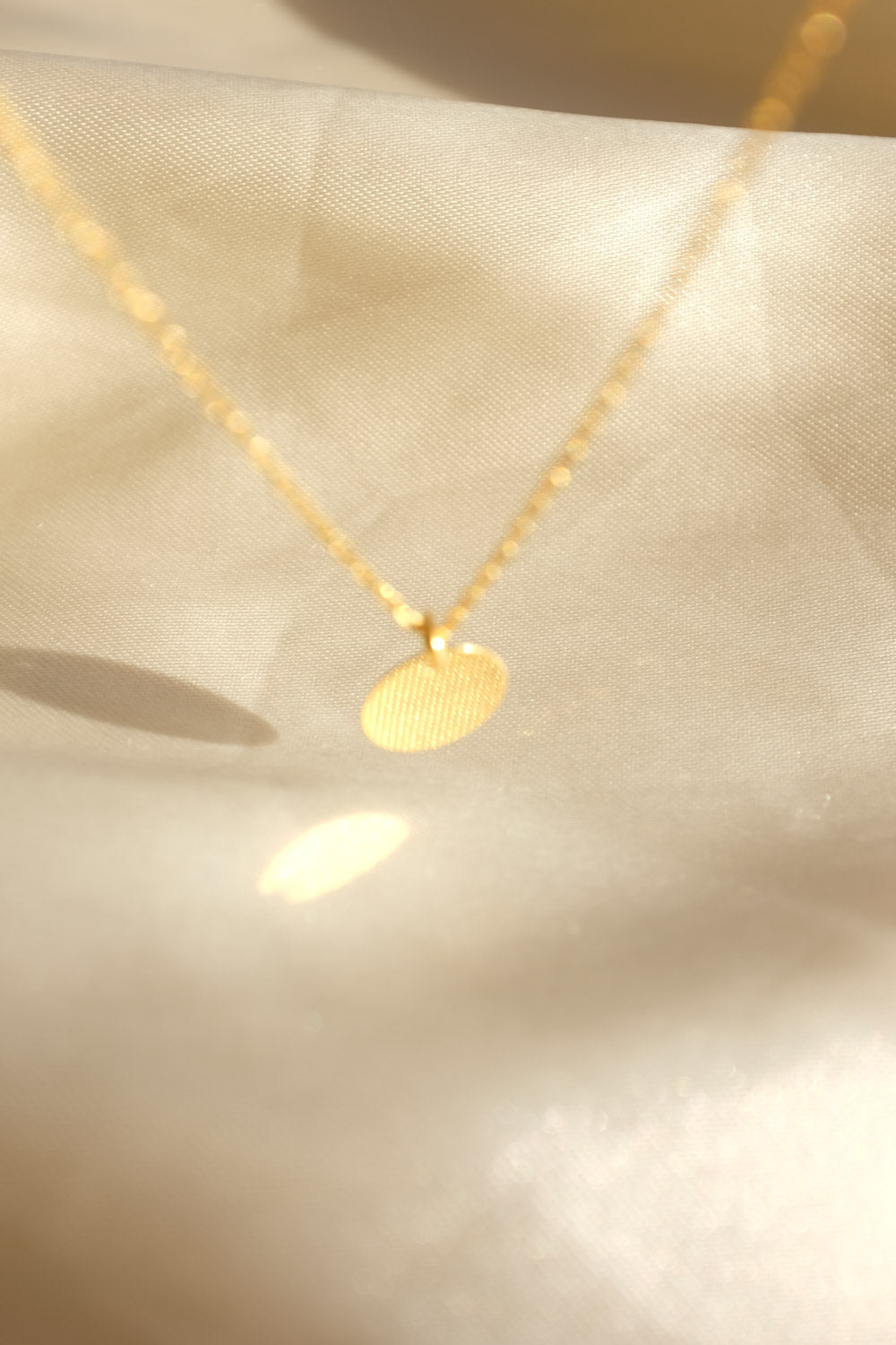 0001_MEDALLION GOLD 925 NECKLACE