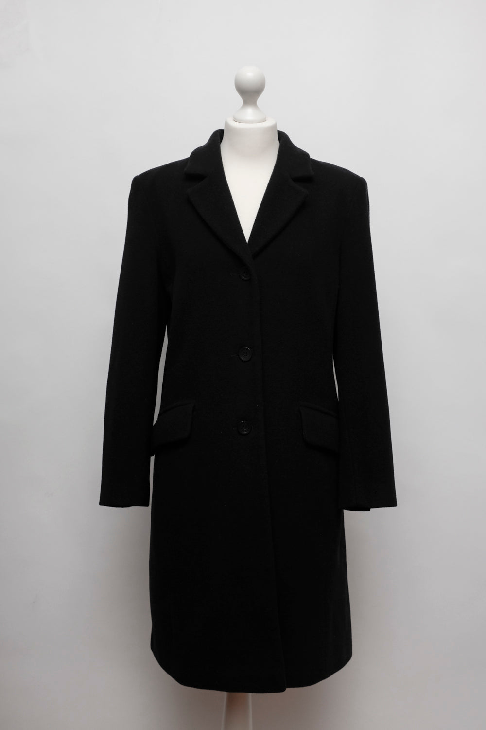 0021_BOXY BLACK WOOL BLAZER COAT