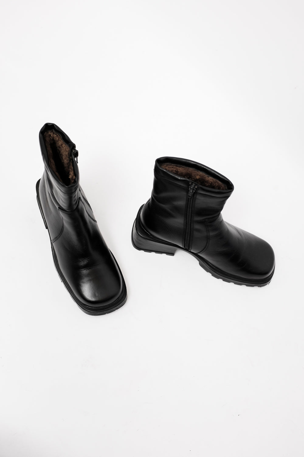 0021_DERBY LEATHER BOOTS 38