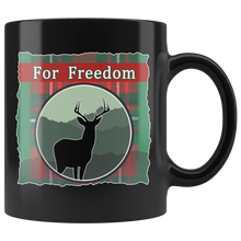 "Load image into Gallery viewer, Hunting in the Highlands ""For Freedom"" Mug"