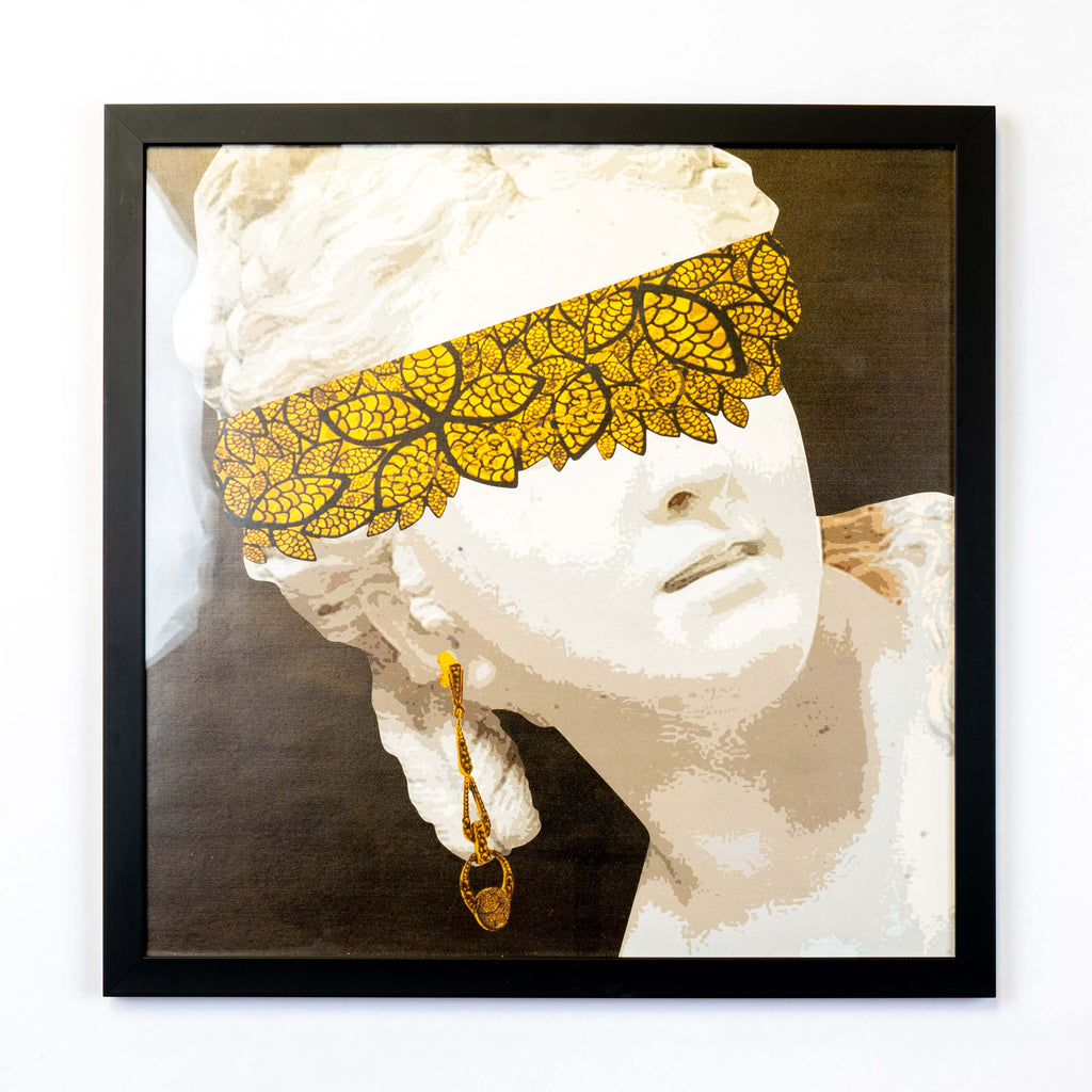 Gold Lace wall art
