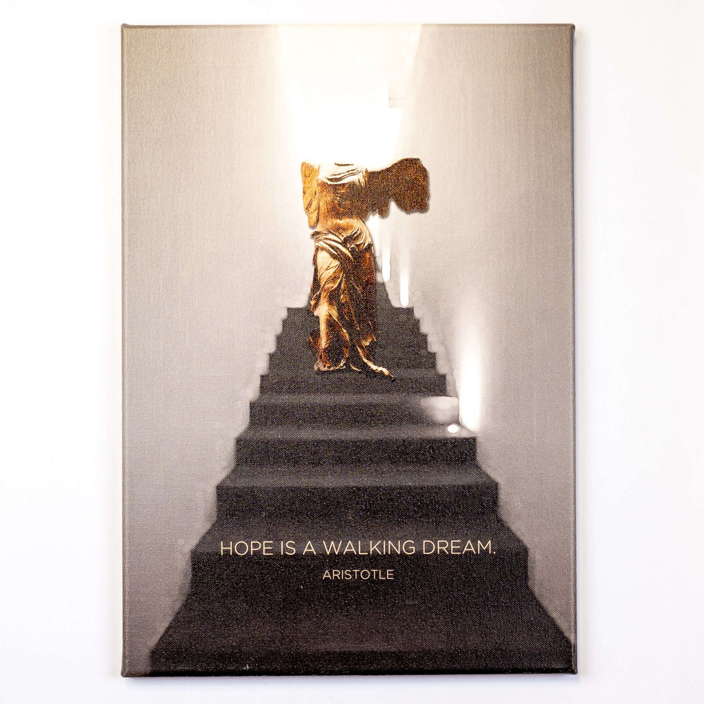 Nice - Hope wall art canvas