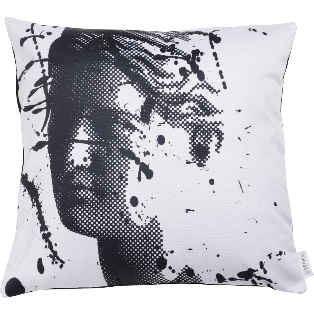 Digital Printed - Artemis Splash Grey