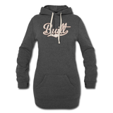 Women's Hoodie Dress - heather black