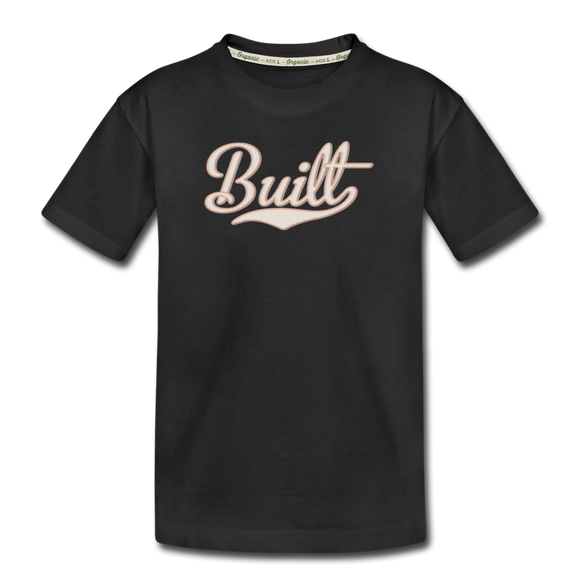 Built Kids Tee - black