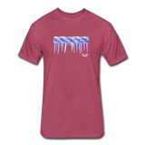 Frozen Rope Tee - heather burgundy