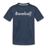Kid's 'Baseball' Premium Organic T-Shirt - navy