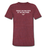 No Bad Days Tee - heather cranberry
